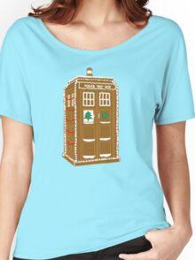 Gingerbread Tardis Women's Relaxed Fit T-Shirt