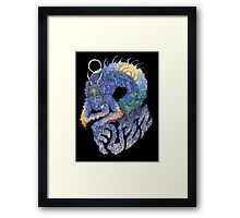 FUZZ Dragon Framed Print
