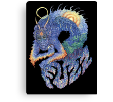 FUZZ Dragon Canvas Print