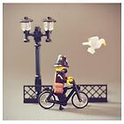 Police bike Patrol by bykai
