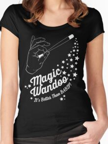 Magic Wandoo (Dark Version) Women's Fitted Scoop T-Shirt