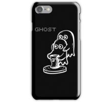Ghost (White) iPhone Case/Skin