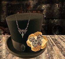 Steampunk Top Hat Design by Melissa Park