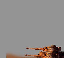 Tiger tank squad by LtPickle