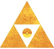 Triforce nintendo Photographic Print