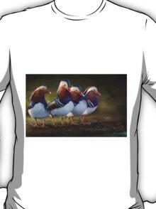 four brothers mandarin ducks T-Shirt
