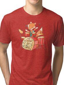 Foxy drummer Tri-blend T-Shirt