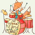 Foxy drummer by kimfleming