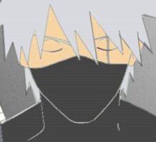 Hatake Kakashi : Poutine Gris Sticker
