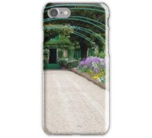 The Gardens at Giverny iPhone Case/Skin