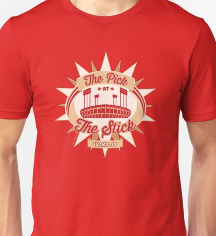 The Pick at the Stick Unisex T-Shirt