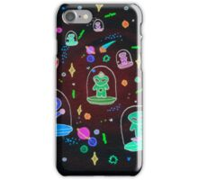 alien capsule ship iPhone Case/Skin
