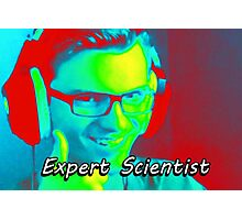 Expert Scientist Photographic Print