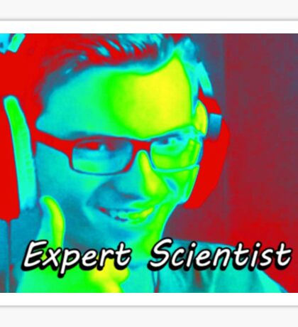 Expert Scientist Sticker