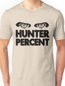 Hunter Percent (Light Version) Unisex T-Shirt
