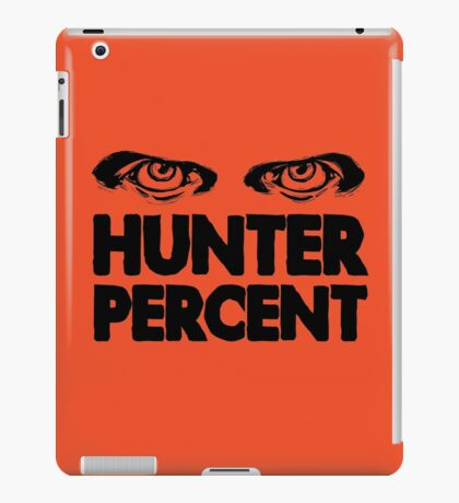 Hunter Percent (Light Version) iPad Case/Skin
