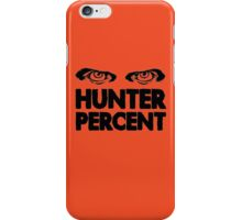 Hunter Percent (Light Version) iPhone Case/Skin