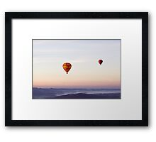 Somewhere in the Sky Framed Print