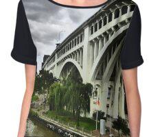 Bridge Over The River Chiffon Top