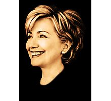 young hillary clinton Photographic Print