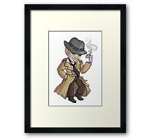 Nick Valentine - Synth Detective Framed Print