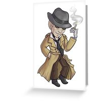 Nick Valentine - Synth Detective Greeting Card