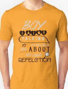 Reflection Typography T-Shirt