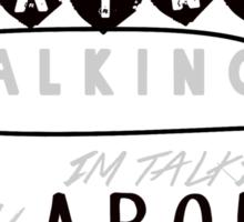 Reflection Typography Sticker