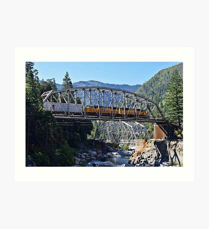 Crossing Over Highway 70 Art Print
