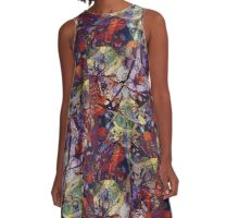 Earth and Rust A-Line Dress