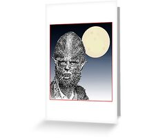 Were there wolf Greeting Card