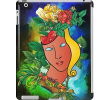 Flowers and mask iPad Case/Skin