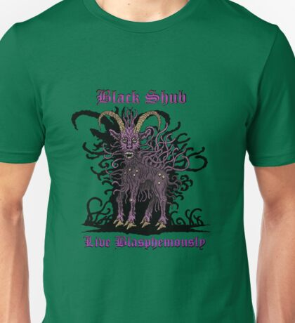 Black Shub Unisex T-Shirt