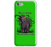 Black Shub iPhone Case/Skin