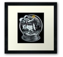 The Nightmare Before Christmas - Zero Framed Print