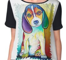 Doberman Pinscher Chiffon Top