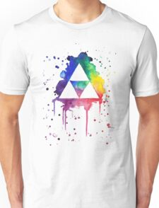 Triforce splatter Unisex T-Shirt