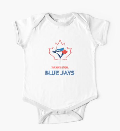 True North Strong Blue Jays One Piece - Short Sleeve