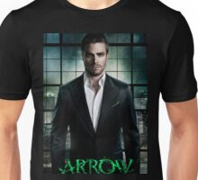 Stephen Amell Arrow Cover Unisex T-Shirt