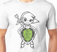 Link 'Will cut grass for rupees' Unisex T-Shirt