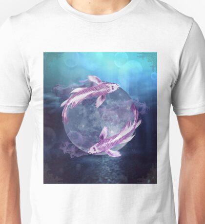 Koi Moon Unisex T-Shirt