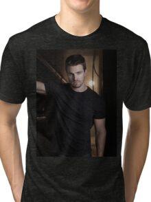 Stephen Amell Arrow 03 Tri-blend T-Shirt