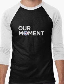 #OurMoment Toronto Blue Jays Men's Baseball ¾ T-Shirt