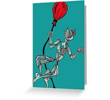 Passion without thought Greeting Card