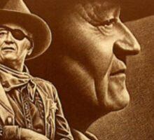 """John Wayne"" [The Duke] Ed Gedrose Sticker"