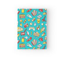 Teal Retro Street Urban Style Hardcover Journal