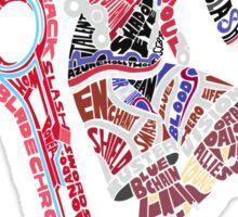 Shulk Typography Sticker
