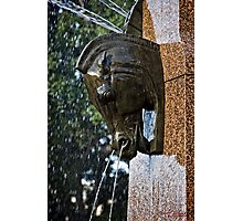 Fountain in a Sculpture (1) Photographic Print