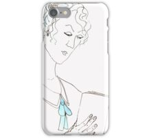 Reading woman iPhone Case/Skin