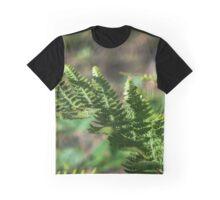 Fern Detail Graphic T-Shirt